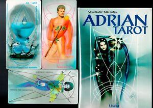 Adrian-Tarot-deutsch-Buch-und-Karten-in-einer-Box-rar-selten-Sammler-TOP-Zustand