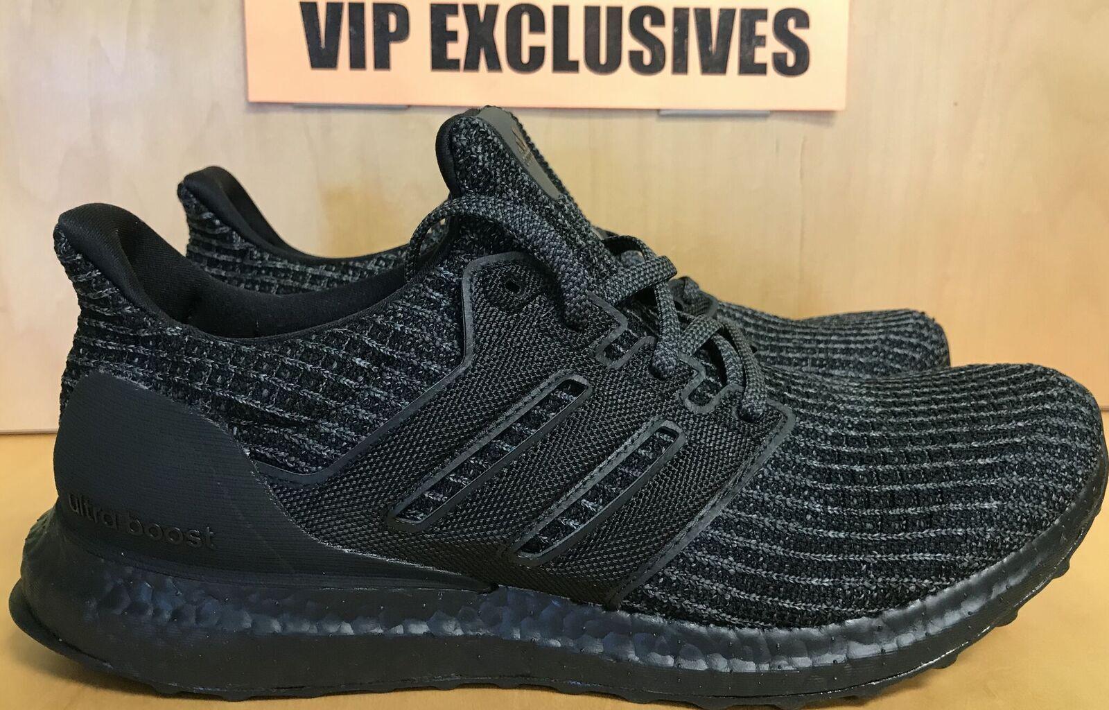 Adidas 4,0 ultra impulso 4,0 Adidas triplo nero bb6171 ultraboost dimensioni 8 - 9 in mano 887e1e