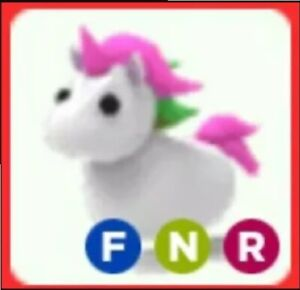Legendary Neon Unicorn In Adopt Me Roblox Ebay - i only traded neon pets for 24 hours in adopt me roblox adopt me