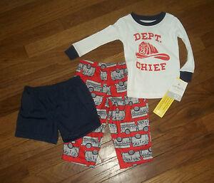30de482d7 Carter s 3 Piece Sleepwear Toddler Boy s Size 12 Months NWT  26 ...