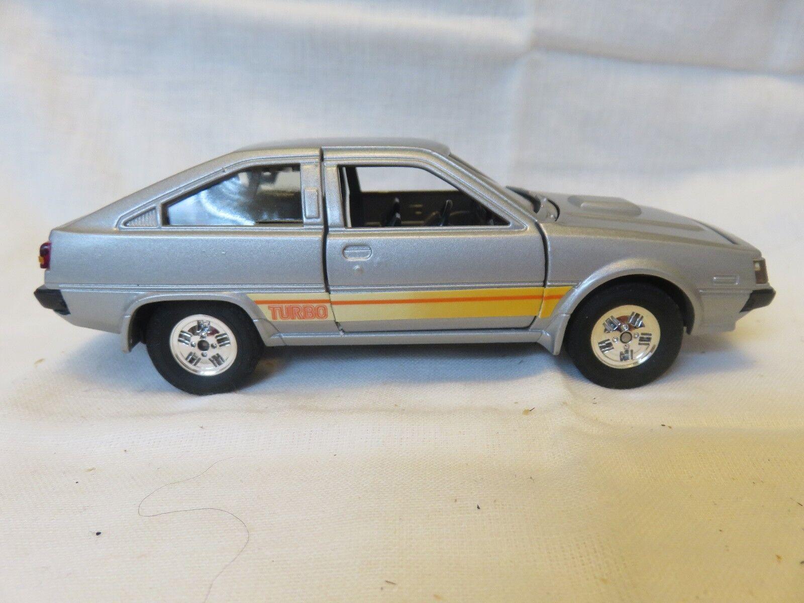 Yonezawa Toys Diapet Mitsubishi Cordia-XP Turbo 1  28 G-12  01605 Silver