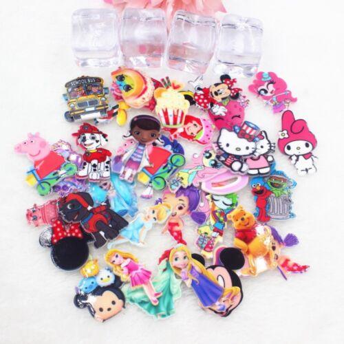 50pcs//lot mix planar resin mix colors mix items DIY resin cabochons accessories