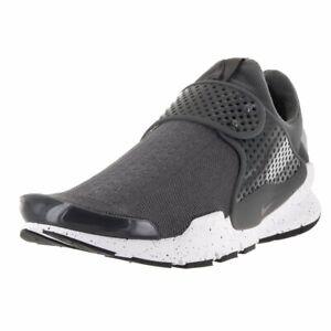 Nike-Sock-Dart-819686-003-Wolf-Grey-White-Men-039-s-Trainers-NEW-Size-8