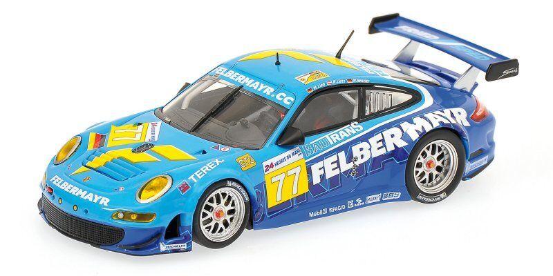 Porsche 911 Gt3  77 54th (Retirosso) Le Mans 2009 Lieb   Lietz   Henzler 1 43