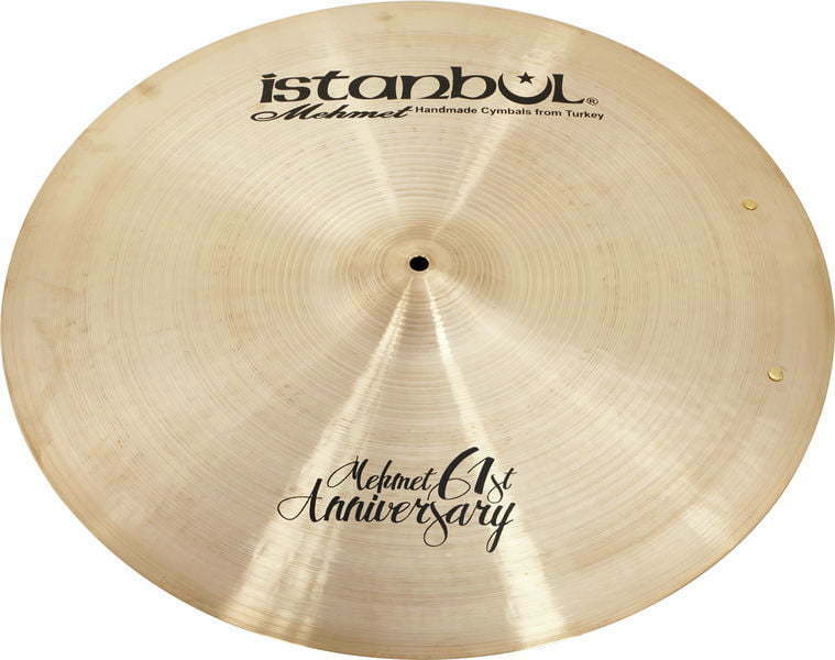 Istanbul Mehmet Cymbals Signatures 20  inch 61st Anniversary Classic Ride Sizzle