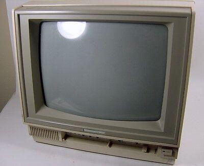 Monitore vintage Commodore 1802 a colori funzionante da revisionare