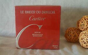 CARTIER-LE-BAISER-DU-DRAGoN-PARFUM-30ml-spray-sealed