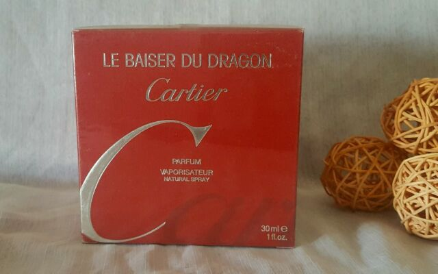 CARTIER LE BAISER DU DRAGÓN PARFUM 30ml spray, sealed.