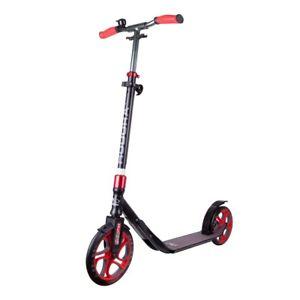 Hudora-clvr-250-Clever-Scooter-Roller-Noir-Rouge