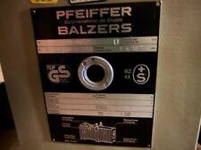 Pfeiffer Balzers Duo 016b Rotary Vane Vacuum Pump