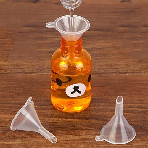 Narrow Neck Plastic Filling Funnel Small Funnel Kitchen Gadget 12 x New