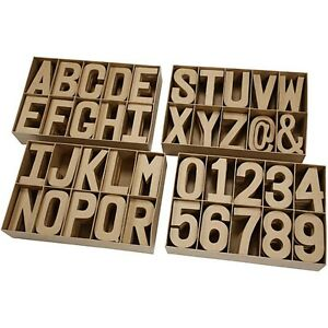 image is loading extra large papier mache cardboard letters amp numbers