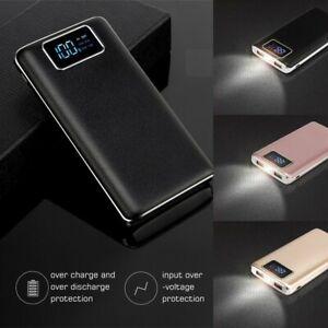 1000000mAh Powerbank Tragbare Zusatzakku Batterie Ladegeräte für alle Handys LCD