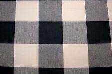 Black Ivory Buffalo Check Jet Pkaufmann Fabric