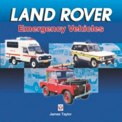 New Book Land Rover Emergency Vehicles Range Rover Discovery Freelander