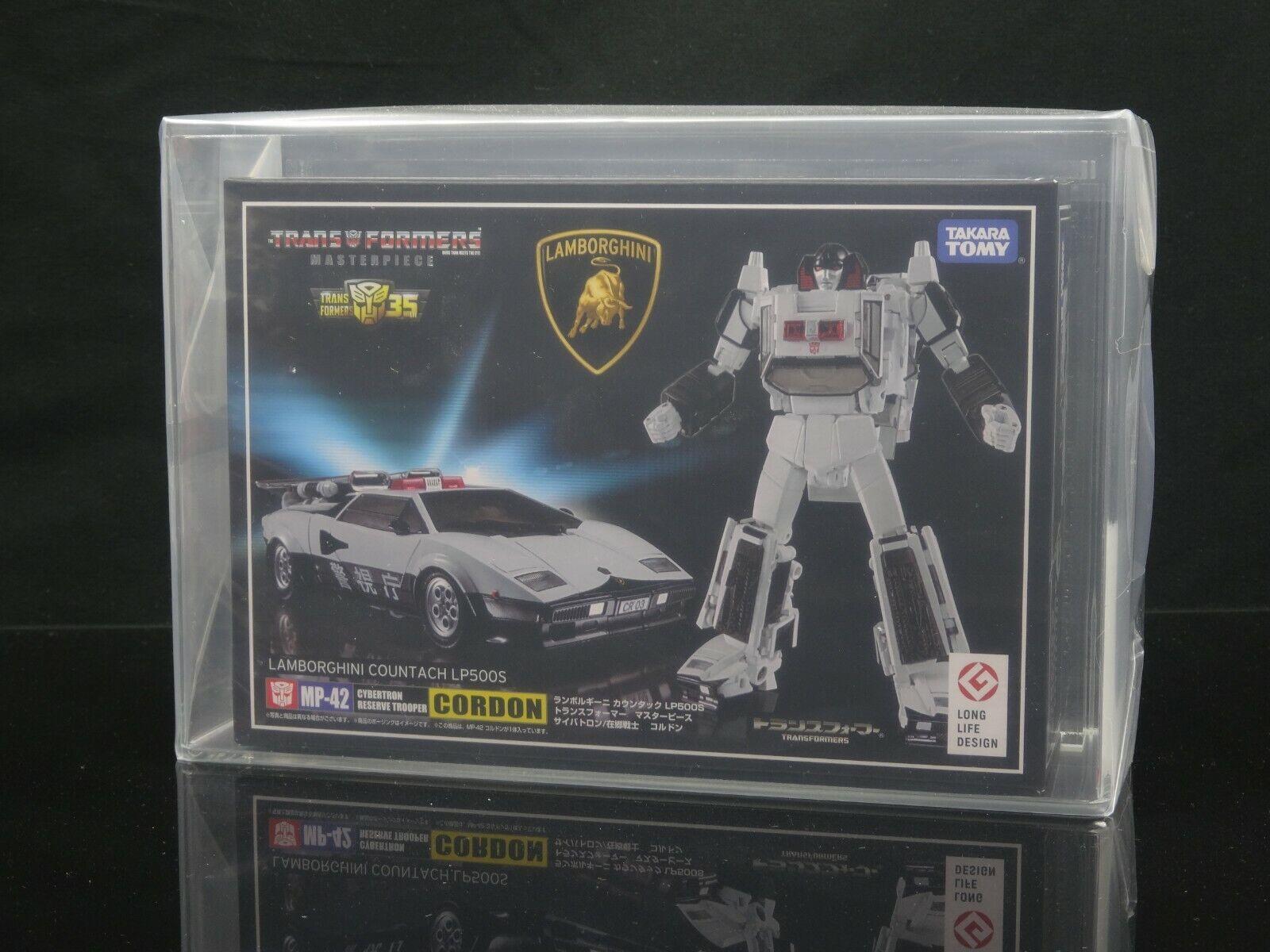 los clientes primero Transformers MP-42 Cordon [85] [85] [85] - Takara Masterpiece AFA  alta calidad general