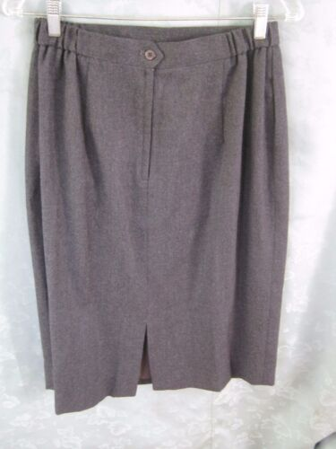 taglia di Zip elastica 12 Gonna stile foderata posteriore Nwt maglia lana in Liz Claiborne anni '80 qaqw1U