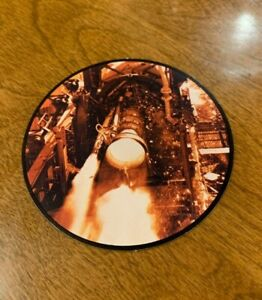 Rocketdyne-Redstone-Program-Vintage-Informational-Drink-Coasters-EUC