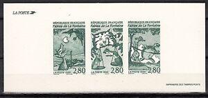 FRANCE GRAVURES DU TIMBRE N° 2961 / 1962 / 2963 JEAN DE LA FONTAINE LES FABLES