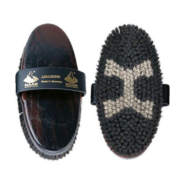 Amabile Haas Crine Di Cavallo & Borstenfeld Amazone Pennello Per Lucido Cappotto E Circolazione 200x85mm Distintivo Per Le Sue Proprietà Tradizionali