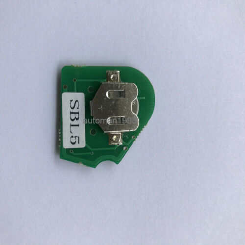 New Replacement 3B Remote Key For Subaru Forester 2009-2010 433MHZ 4D60 chip