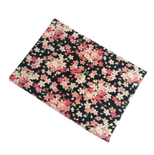 Japanese Style 100/% Cotton Fabric Craft By Meter Floral Clothing Home Decor DIY