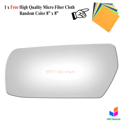 NEW fit 2003-2007 Cadillac CTS Driver Side Left LH Replacement Mirror Glass#6124