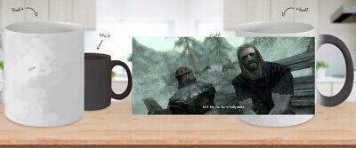 Skyrim Mug you Hey you're finally awake Mug.