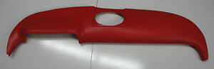 Red Vinyl Dash Pad with hardware 1957 Chevrolet