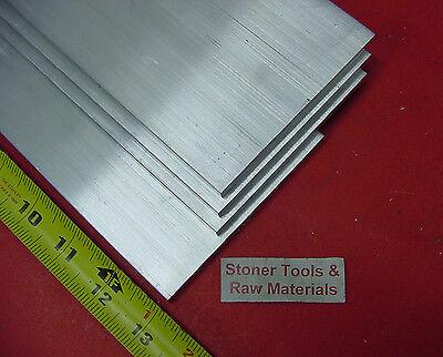 "4 Pieces 1/"" X 1-1//4/"" ALUMINUM 6061 FLAT BAR 13/"" long T6511 SOLID Mill Stock"
