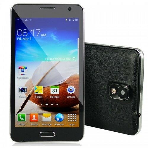 """5.8""""Android 4.2 MT6582 4Cores 1GHz 8GB ROM  Cam Unlocked Smartphone"""