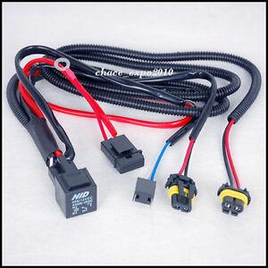 35w 55w Car Hid Xenon Headlight H7 H7r Bulbs Relay Fuse Cable Wiring
