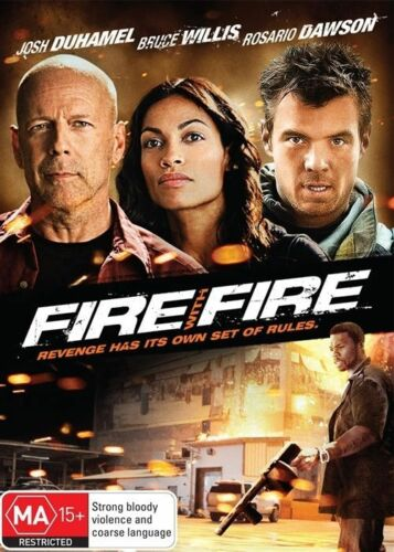 1 of 1 - Fire With Fire (2012) Bruce Willis - NEW DVD - Region 4