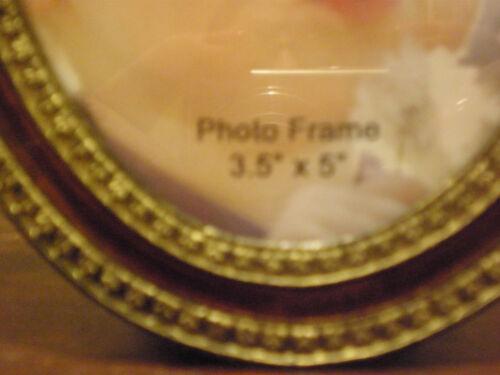 PEACOCK PHOTO FRAME 3.5 X 5 NEW NO BOX