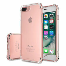 Eaglecell Bumper TPU Rubber Case Cover for Apple iPhone 7 Plus - Clear