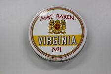 Scatola latta Virginia Mac Baren n° 1-Denmark Tobacco Tabacco 10x2,5 tinbox