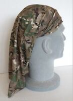 MTP Style Multicam Camo Lightweight Warm Weather Headover Neck Scarf Bandana