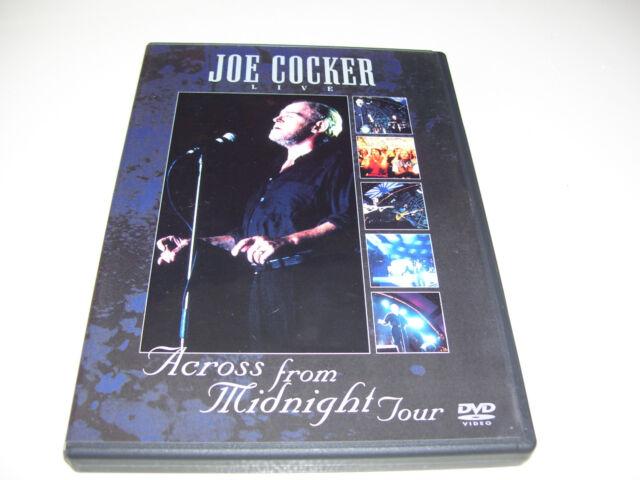 Joe Cocker - Live - Across From Midnight Tour * DVD 2000 *