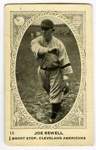 1922-Neilson-s-Chocolate-V61-Type-1-Joe-Sewell-Cleveland-Indians-Yankees-HOF