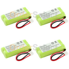 4x Phone Battery 350mAh NiCd for Vtech DS6301 DS6321 DS6322 LS6113 LS6117 LS6204