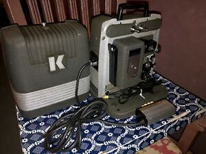 1950s-8mm-Keystone-Movie-Projector-Model-912-Rare-Remote-Control-Working-CLEAN