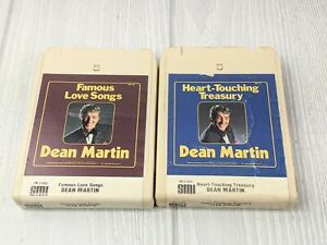 Lot of 2 DEAN MARTIN 8 TRACK TAPES