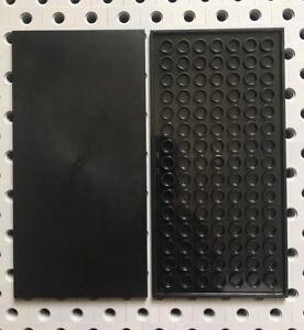 Lego Dark Gray 6x6 Flat Tiles Smooth Finishing MODULAR BUILDINGS Floor Lot Of 4