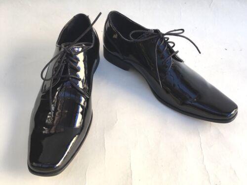 5 verniciata in 887180577450 Brodie 10 Tuxedo Oxfords Klein Calvin pelle Shoes x7zORFqw