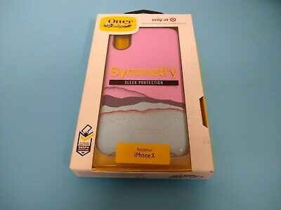 new styles eec1c 44987 OtterBox Apple iPhone X Symmetry Case - Blue/Pink - target exclusive ...