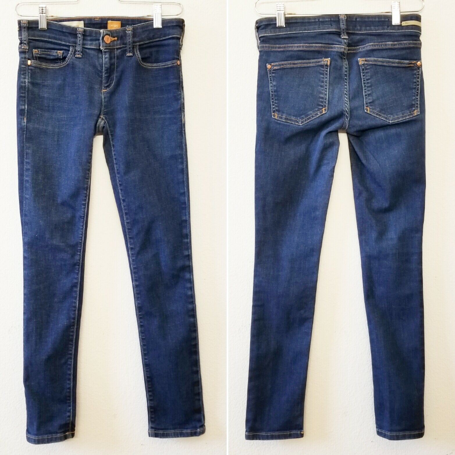 Anthropologie Pilcro And The Letterpress Sz 25 Fit Serif Skinny Jeans 27 x 28