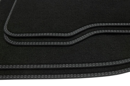 Doppia cucitura decorativa tappetini per Toyota Auris 1 anno 2006-2012