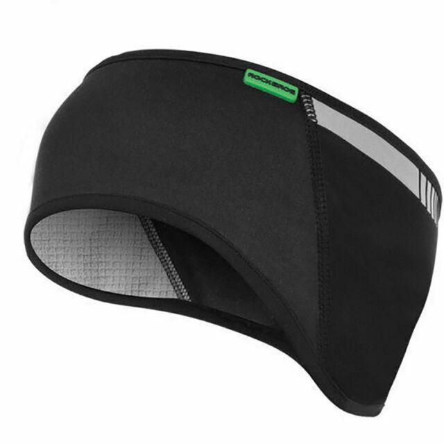 RockBros Winter Reflective Earmuffs Stretchy Headband Sports Fleece Ear Warmer