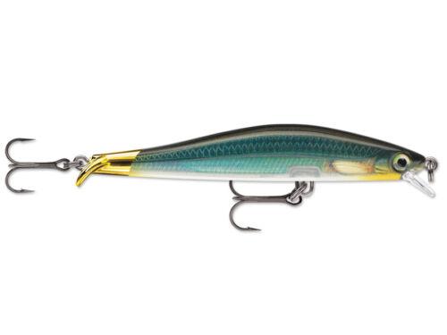 Rapala ripstop 9cm 7g lure fish swimmers vmc hooks nine colours