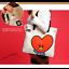 miniature 1 - BTS BT21 Official Authentic MD PVC Shoulder Bag Tote Bag 7 Characters